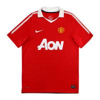Manchester United Retro Soccer Jersey Home Replica 2010/11