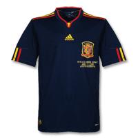 Spain Retro Soccer Jersey Away Replica World Cup 2010