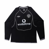 Manchester United Retro Soccer Jersey Goalkeeper Long Sleeve Replica 2000/01
