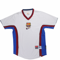 Barcelona Soccer Jersey Away Retro Replica 1998/99