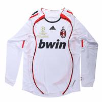 AC Milan Soccer Jersy Away Long Sleeve Retro Replica 2006/07