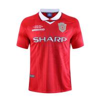 Manchester United Retro Soccer Jersey Home Replica 1999/00