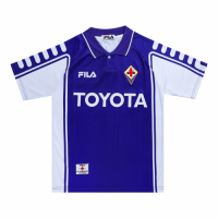 Fiorentina Retro Soccer Jersey Home Replica 1999/00