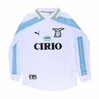 Lazio Retro Soccer Jersey Away Long Sleeve Replica 1999/00