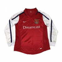 Arsenal Soccer Jersey Home Long Sleeve Retro Replica 2000-2001