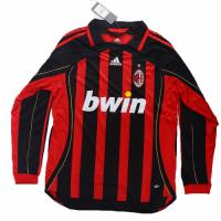 AC Milan Soccer Jersey Home Long Sleeve Retro Replica 2006/07