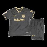 Barcelona Kids Soccer Jersey Away Kit (Shirt+Short) 2020/21