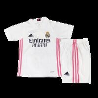 Real Madrid Kids Soccer Jersey Home Kit (Shirt+Short) 2020/21