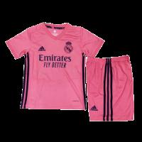 Real Madrid Kids Soccer Jersey Away Kit (Shirt+Short) 2020/21