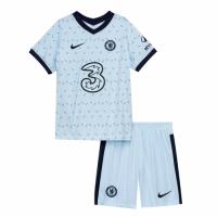 Chelsea Kids Soccer Jersey Away Kit (Shirt+Short) 2020/21