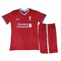 Liverpool Kids Soccer Jersey Home Kit (Shirt+Short) 2020/21