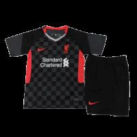 Liverpool Kids Soccer Jersey Third Away Kit (Shirt+Short) 2020/21