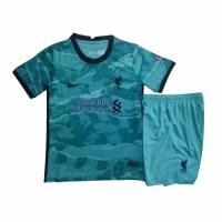 Liverpool Kids Soccer Jersey Away Kit (Shirt+Short) 2020/21