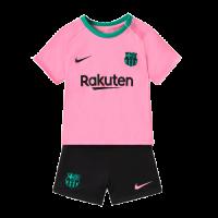 Barcelona Kids Soccer Jersey Third Away Kit (Shirt+Short) 2020/21