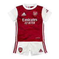 Arsenal Kids Soccer Jersey Home Kit (Shirt+Short) 2020/21