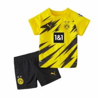 20/21 Borussia Dortmund Home Yellow Children's Jerseys Kit(Shirt+Short)