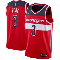 Men's Washington Wizards Bradley Beal No.3 Nike Red Swingman Jersey - Icon Edition
