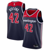 Men's Washington Wizards Davis Bertans No.42 Nike Navy Swingman Jersey