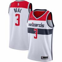 Men's Washington Wizards Bradley Beal No.3 Nike White 20192020 Swingman Jersey - Association Edition