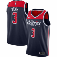 Men's Washington Wizards Bradley Beal No.3 Nike Navy Swingman Jersey