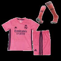 Real Madrid Kids Soccer Jersey Away Whole Kit (Shirt+Short+Socks) 2020/21