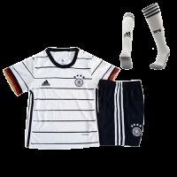 Germany Kids Soccer Jersey Home Whole Kit (Shirt+Short+Socks) 2021