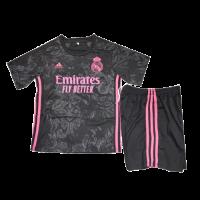 Real Madrid Kids Soccer Jersey Third Away Kit (Shirt+Short) 2020/21