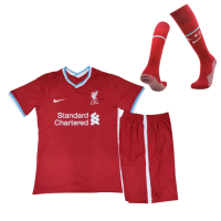 20/21 Liverpool Home Red Children's Jerseys Kit(Shirt+Short)