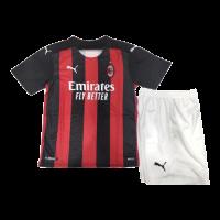 AC Milan Kids Soccer Jersey Home Kit (Shirt+Short) 2020/21
