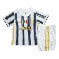 Juventus Kids Soccer Jersey Home Kit (Shirt+Short) 2020/21