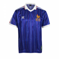 France Rertro Soccer Jersey Home Replica World Cup 1982
