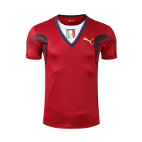 Italy Retro Soccer Jersey Goalkeeper Red Replica World Cup 2006