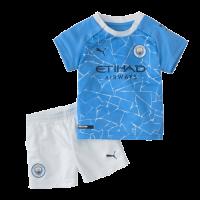 Manchester City Kids Soccer Jersey Home Kit (Shirt+Short) 2020/21
