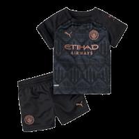 Manchester City Kids Soccer Jersey Away Kit (Shirt+Short) 2020/21