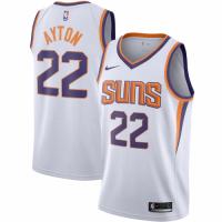 Men's Phoenix Suns DeAndre Ayton No.22 Nike White 20192020 Swingman Jersey - Association Edition
