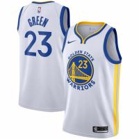 Men's Golden State Warriors Draymond Green No.23 Nike White 20192020 Swingman Jersey - Association E