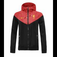 20/21 Liverpool Red&Black Windbreaker Hoodie Jacket
