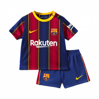 Barcelona Kids Soccer Jersey Home Kit (Shirt+Short) 2020/21