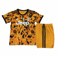 Juventus Kids Soccer Jersey Third Away Kit (Shirt+Short) 2020/21