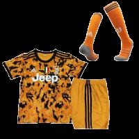 Juventus Kids Soccer Jersey Third Away Whole Kit (Shirt+Short+Socks) 2020/21