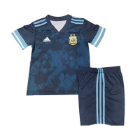 Argentina Kids Soccer Jersey Away Kit (Shirt+Short) 2020/21