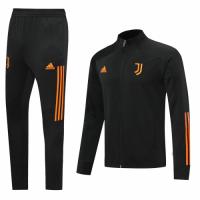20/21 Juventus Black&Orange High Neck Training Kit(Jacket+Trouser)