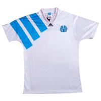 92/93 Marseille Home White Retro Jerseys Shirt