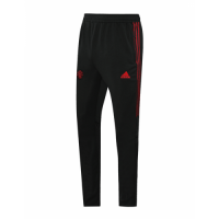 20/21 Manchester United Black&Red Training Trouser