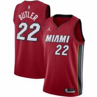 Men's Miami Heat Jimmy Butler Jordan Brand Red 2020/21 Swingman Jersey - Statement Edition