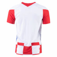 20/21 Croatia Home Red&White Jerseys Shirt