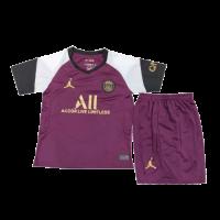 PSG Kids Soccer Jersey Third Away Kit (Shirt+Short) 2020/21
