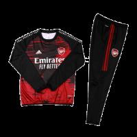 Arsenal Kids Sweat Kit (Top+Trouser) Black&Red 2020/21