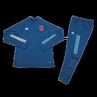 Ajax Kids Zipper Sweat Kit (Top+Trouser) Navy 2020/21