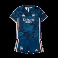 Arsenal Kids Soccer Jersey Third Away Kit(Shirt+Short) 2020/21